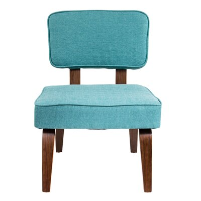 Narberth Side Chair Upholstery: Teal