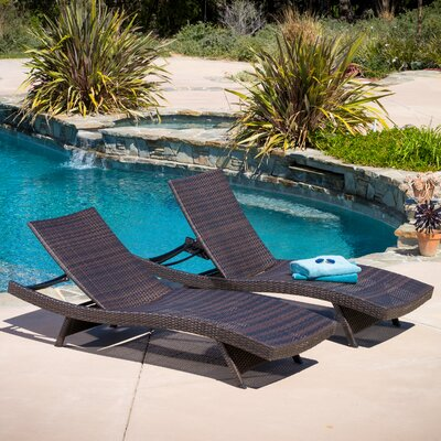 Choi 4 Piece Chaise Lounge Set