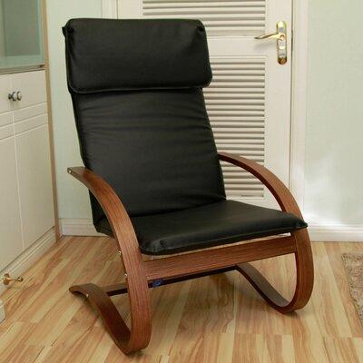 Argueta Faux Leather Lounge Chair