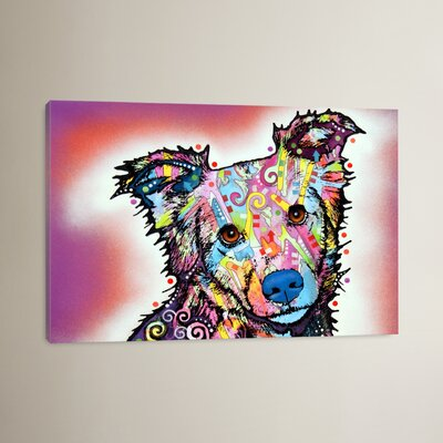Collied by Dean Russo Graphic Art on Wrapped Canvas