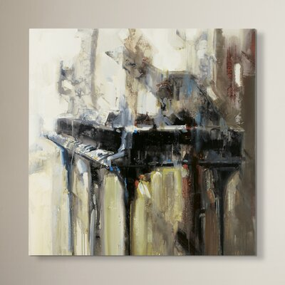 by Giclee Print Painting on Wrapped Canvas