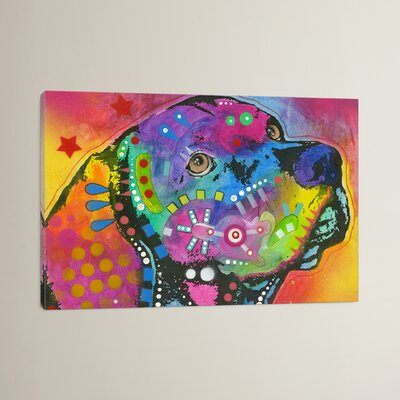 'Psychedelic Lab' by Dean Russo Graphic Art on Wrapped Canvas