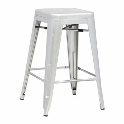 Clever 25 Bar Stool Finish: Silver