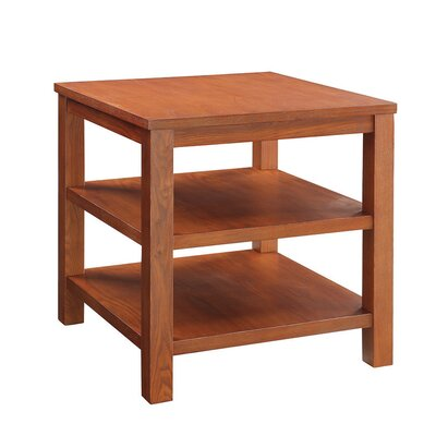 Crown Heights End Table Color: Cherry