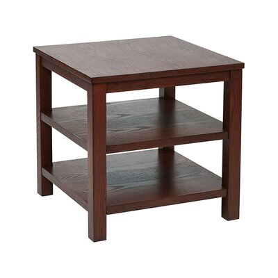 Crown Heights End Table Finish: Mahogany