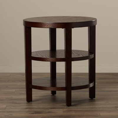 Crown Heights End Table Finish: Espresso