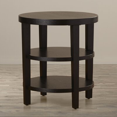 Crown Heights End Table Color: Black