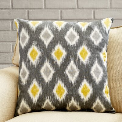Rutherford Cotton Throw Pillow Size: 18 x 18
