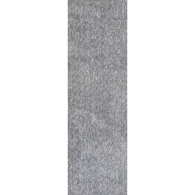 Bouvier Hand-Woven Gray Area Rug Rug Size: Runner 23 x 76