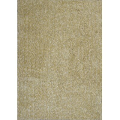 Bouvier Hand-Woven Yellow Area Rug Rug Size: 33 x 53