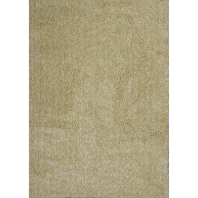 Bouvier Hand-Woven Yellow Area Rug Rug Size: 23 x 39