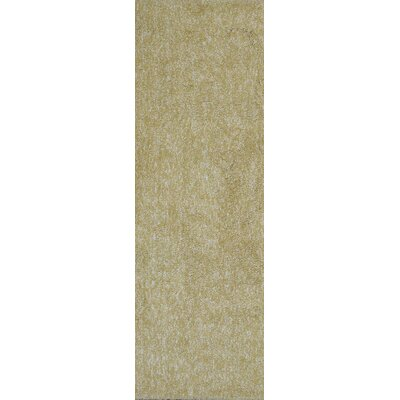 Bouvier Hand-Woven Yellow Area Rug Rug Size: Runner 23 x 76