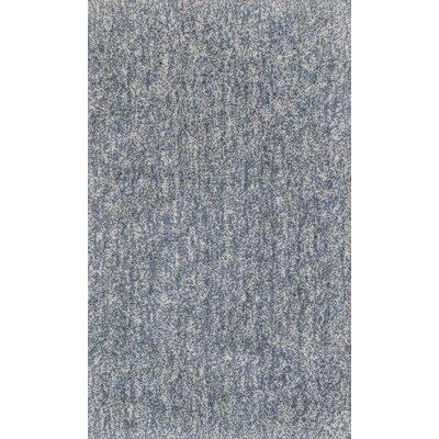 Bouvier Hand-Woven Slate Area Rug Rug Size: 5 x 7
