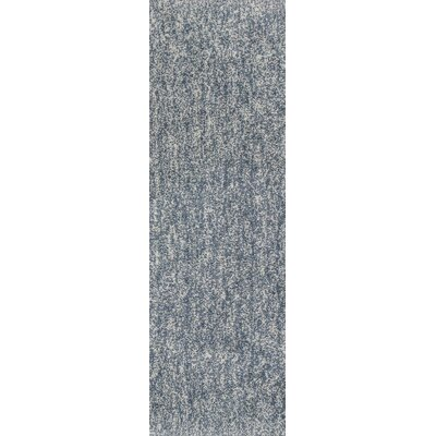 Bouvier Hand-Woven Slate Area Rug Rug Size: Runner 23 x 76