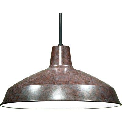 Bouvier 1-Light Inverted Pendant Finish: Old Bronze