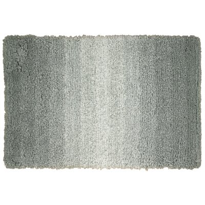 Bronson Gray Area Rug Rug Size: 2'6
