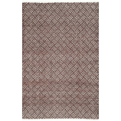 Redbrook Brown Area Rug Rug Size: 26 x 4