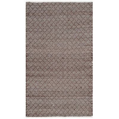 Redbrook Brown Area Rug Rug Size: Rectangle 3 x 5