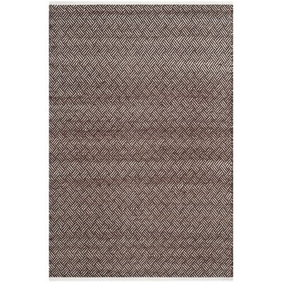 Redbrook Brown Area Rug Rug Size: Rectangle 4 x 6