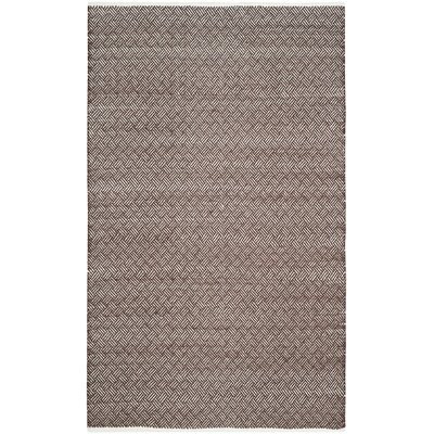 Redbrook Brown Area Rug Rug Size: Rectangle 5 x 8