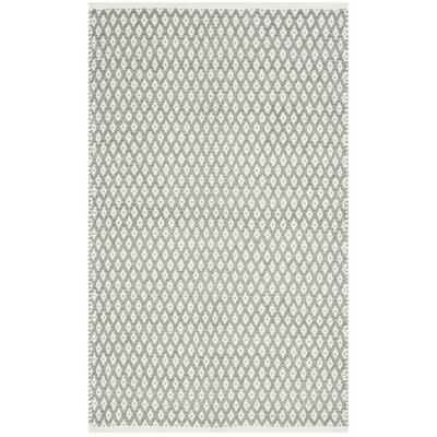 Redbrook Gray Area Rug Rug Size: Rectangle 3 x 5