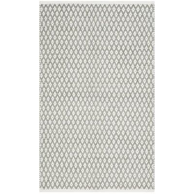 Redbrook Gray Area Rug Rug Size: 4 x 6