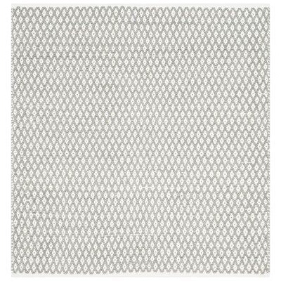 Redbrook Gray Area Rug Rug Size: Square 4