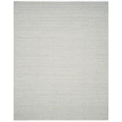 Redbrook Gray Area Rug Rug Size: 9 x 12