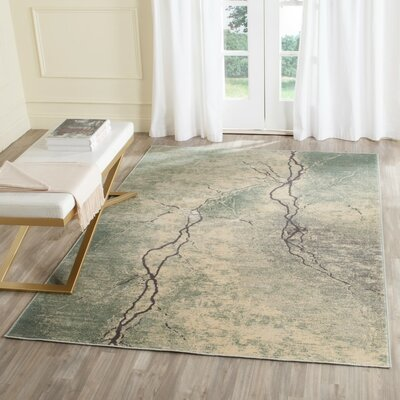 Stave Area Rug Rug Size: 53 x 76