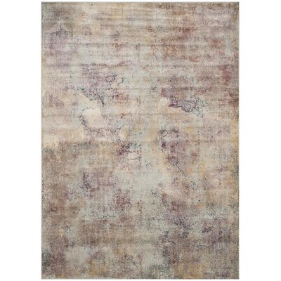 Stave Beige/Multi Area Rug Rug Size: Rectangle 8 x 112