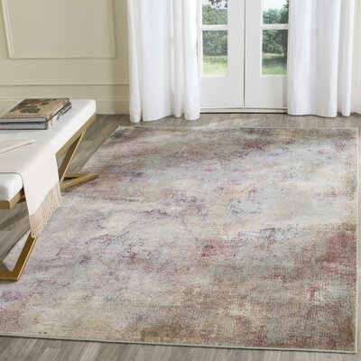Stave Beige Area Rug Rug Size: Rectangle 33 x 57