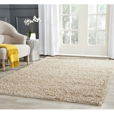 West Broadway Beige Area Rug Rug Size: 6 x 9