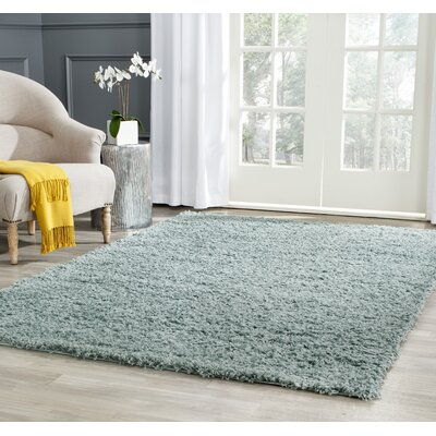 Wilder Seafoam Area Rug Rug Size: Rectangle 6 x 9