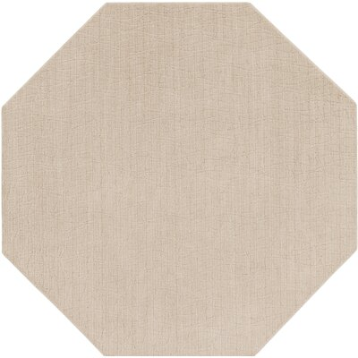Upper Strode Beige Indoor/Outdoor Area Rug Rug Size: Octagon 6
