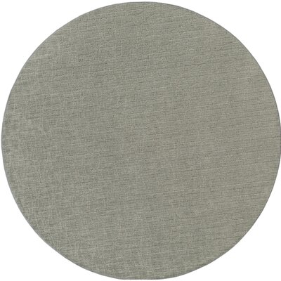 Upper Strode Green Indoor/Outdoor Area Rug Rug Size: Round 6