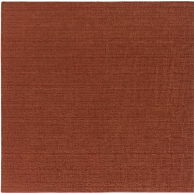 Upper Strode Red Indoor/Outdoor Area Rug Rug Size: Square 6