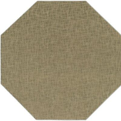 Upper Strode Green Indoor/Outdoor Area Rug Rug Size: Octagon 6