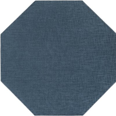 Upper Strode Blue Indoor/Outdoor Area Rug Rug Size: Octagon 6