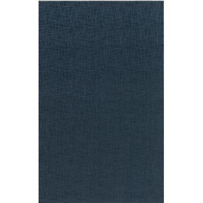 Upper Strode Blue Indoor/Outdoor Area Rug Rug Size: Round 4'