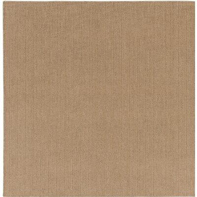 Upper Strode Brown Indoor/Outdoor Area Rug Rug Size: Square 6