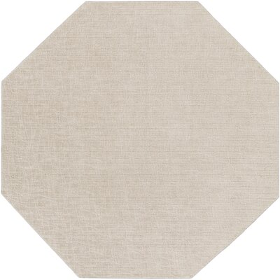 Upper Strode Gray Indoor/Outdoor Area Rug Rug Size: Octagon 6