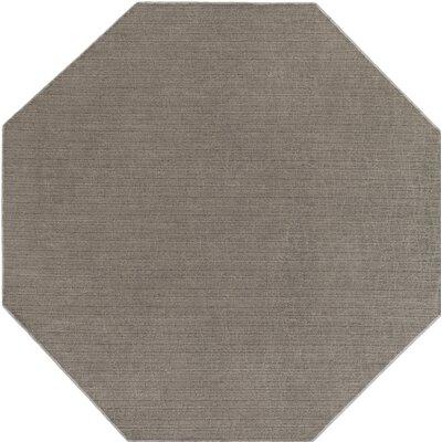 Upper Strode Gray Indoor/Outdoor Area Rug Rug Size: Octagon 6'