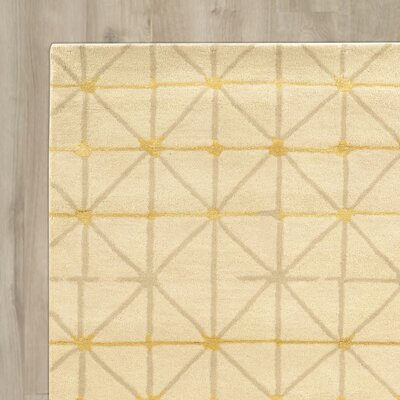 Bushwick Hand-Tufted Beige/Gray Area Rug Rug Size: Rectangle 5 x 8