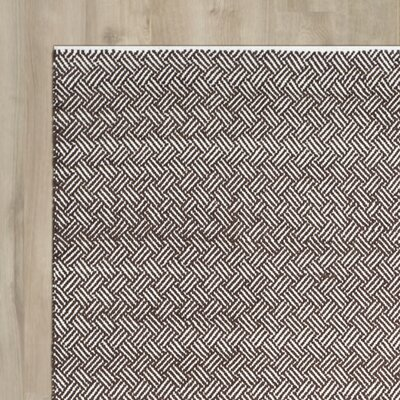 Redbrook Brown Area Rug Rug Size: Runner 23 x 7