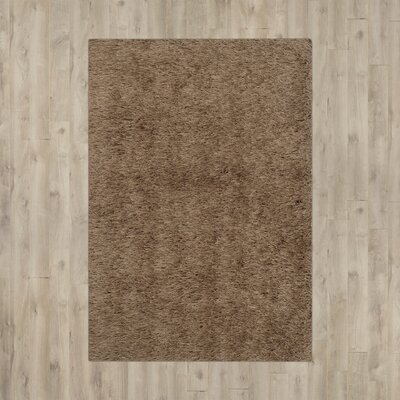 Armbruster Hand-Tufted Taupe Area Rug Rug Size: Rectangle 8-6 X 12