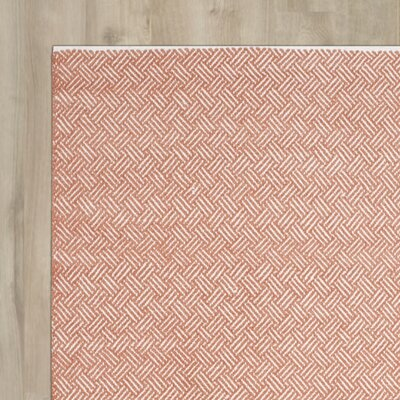 Redbrook Orange Area Rug Rug Size: Rectangle 9 x 12