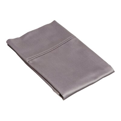 Superior Pillow Case Size: King, Color: Grey