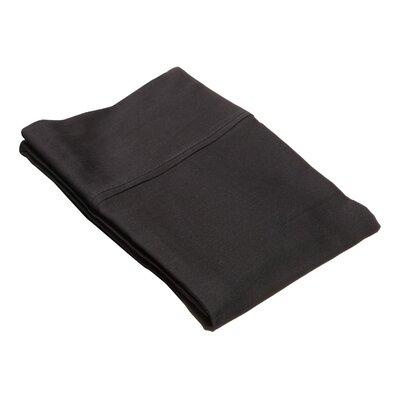 Superior Pillow Case Size: Standard, Color: Black