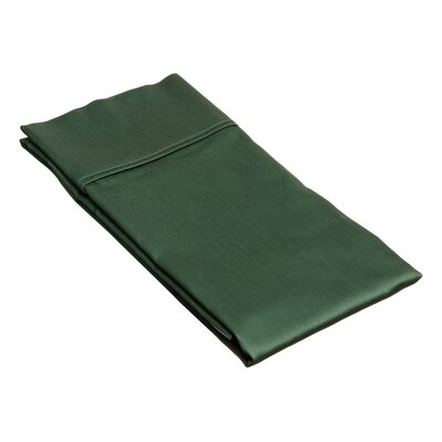 Superior Pillow Case Size: King, Color: Hunter Green