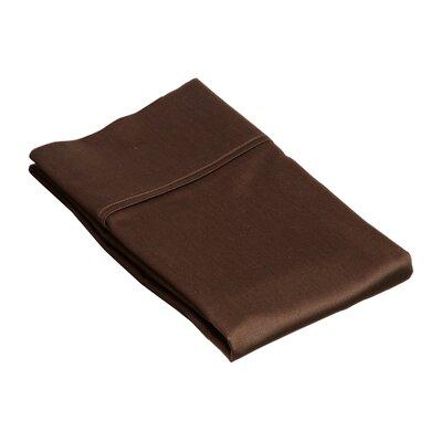 Superior Pillow Case Size: King, Color: Mocha